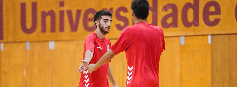 SC Braga/AAUM continua a preparar o arranque da Liga Placard 2