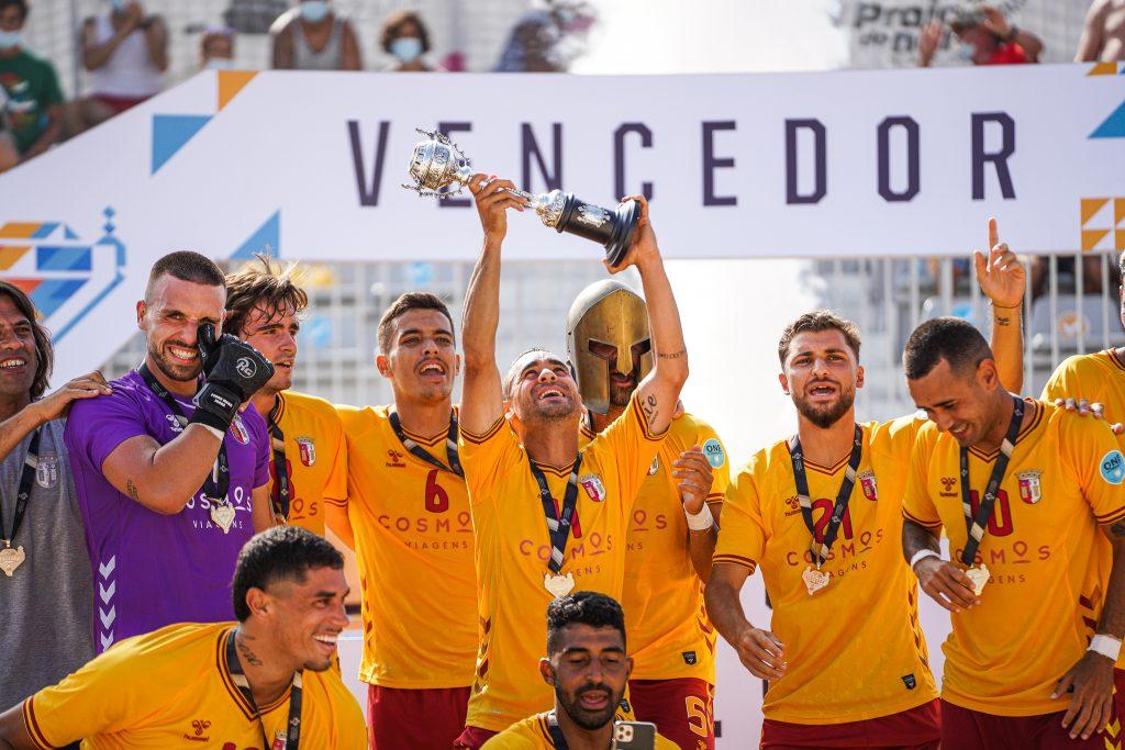 SC Braga vence a Taça de Portugal de Futebol de Praia 1