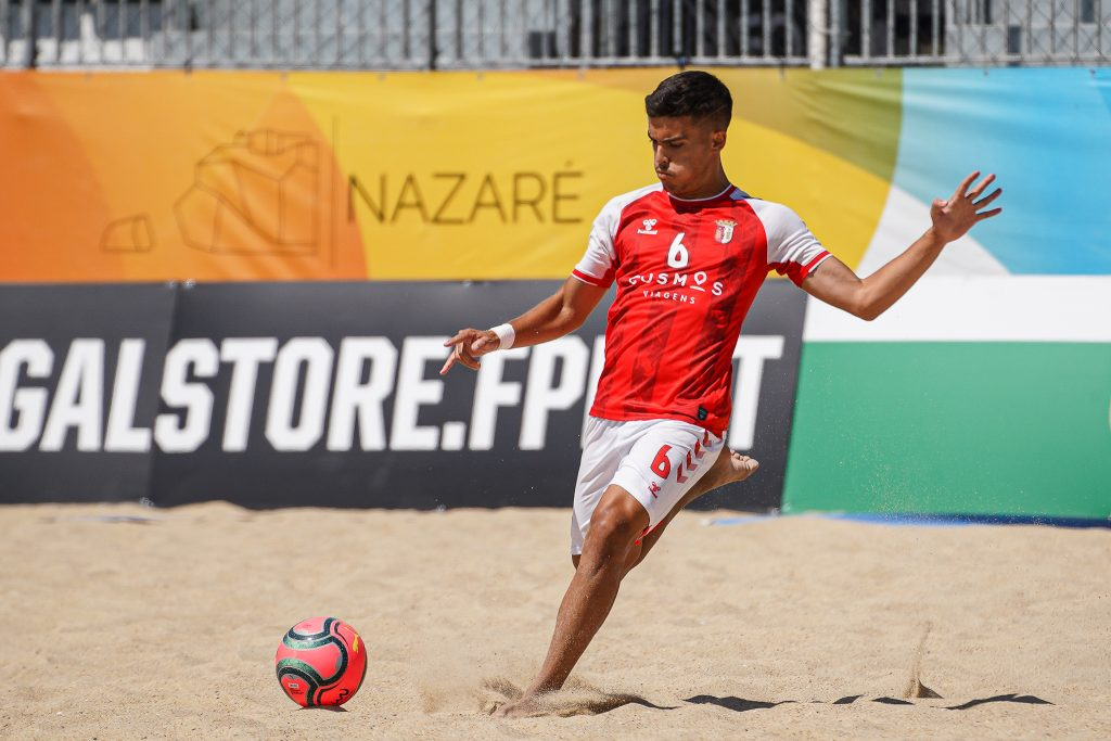 Sete Gverreiros no estágio da Seleção Nacional de Futebol de Praia