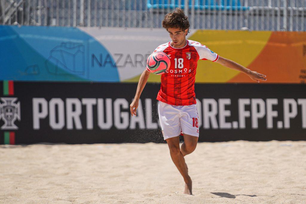 Sete Gverreiros no estágio da Seleção Nacional de Futebol de Praia 1