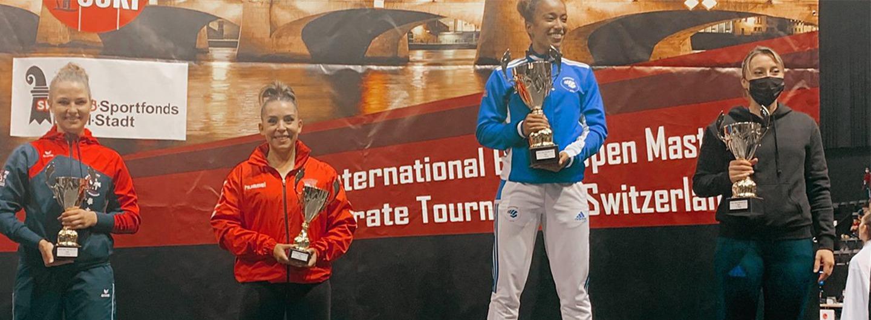 Patrícia Esparteiro conquista medalha de bronze 2