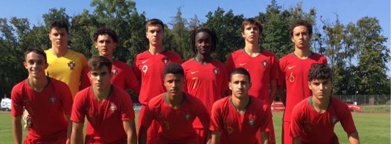 Seleção Nacional Sub-17 perde frente à Polónia 1