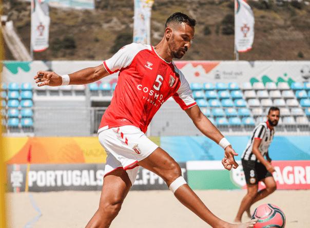 Sete Gverreiros no estágio da Seleção Nacional de Futebol de Praia 2