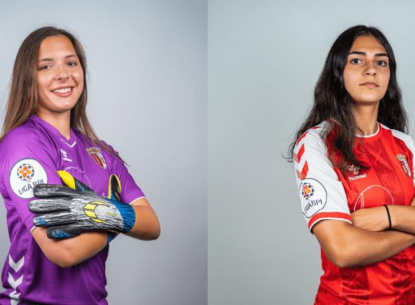 Margarida Rodrigues e Leonor Faria na Seleção Nacional Sub-17 1