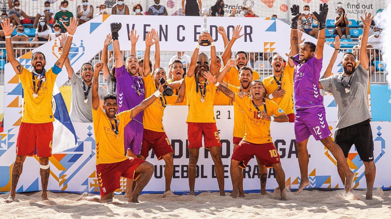 SC Braga vence a Taça de Portugal de Futebol de Praia 2