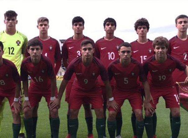 Duo Gverreiro na vitória da Seleção Nacional Sub-16