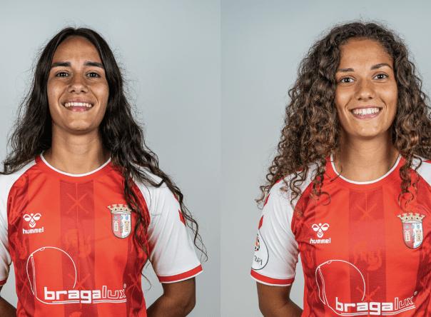 Inês Maia e Sofia Silva na Seleção Nacional B