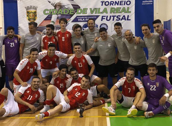 SC Braga/AAUM vence IV Torneio Cidade de Vila Real 1