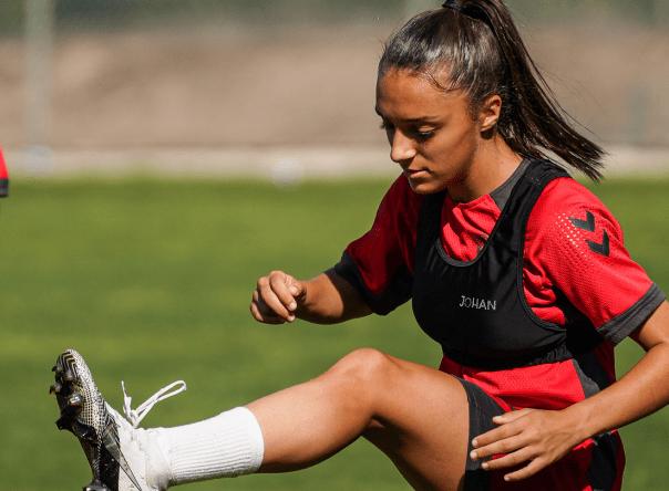Leonor Freitas titular na Seleção Nacional Sub-19 2