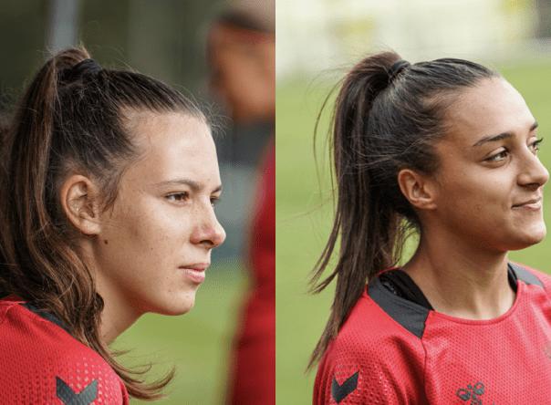 Eduarda Silva e Leonor Freitas na Seleção Nacional Sub-19 1