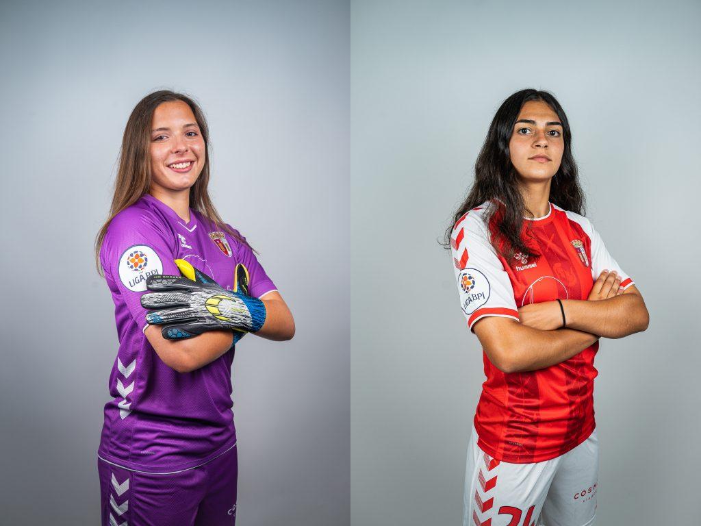 Margarida Rodrigues e Leonor Faria na Seleção Nacional Sub-17
