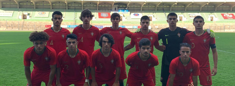 Seleção Nacional Sub-18 vence a Suíça 1