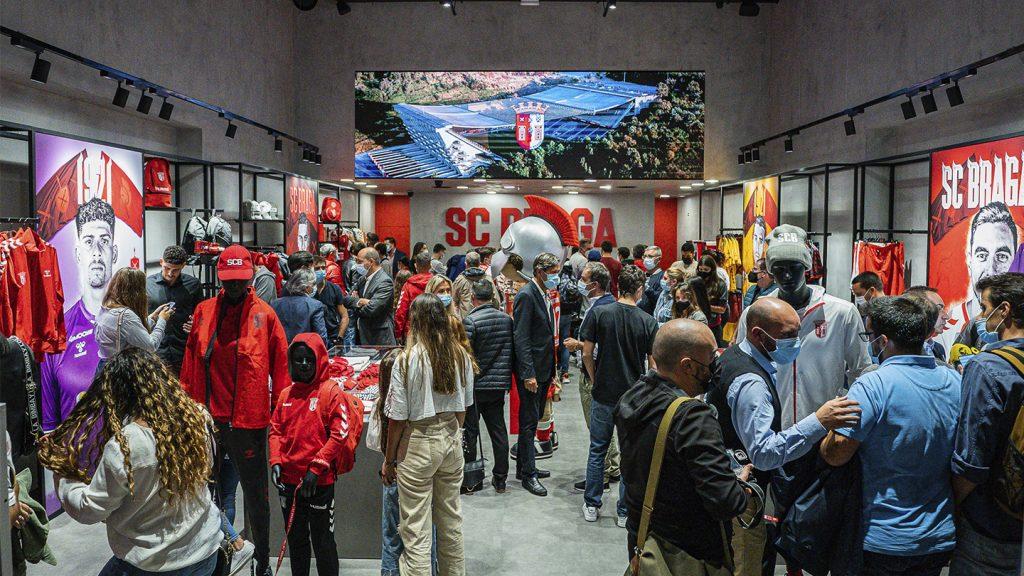 Abertura da nova loja no Braga Parque 2