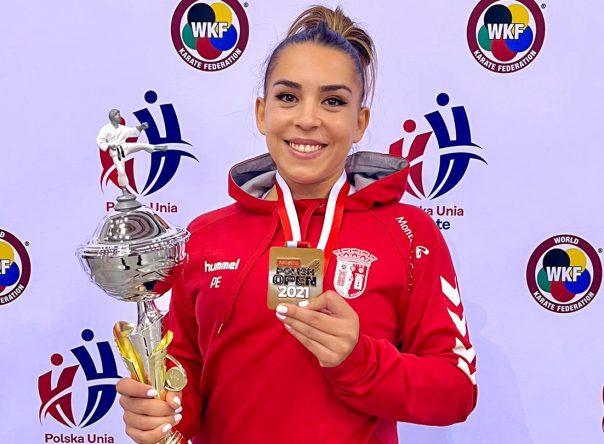 Patrícia Esparteiro conquista medalha de Ouro 1
