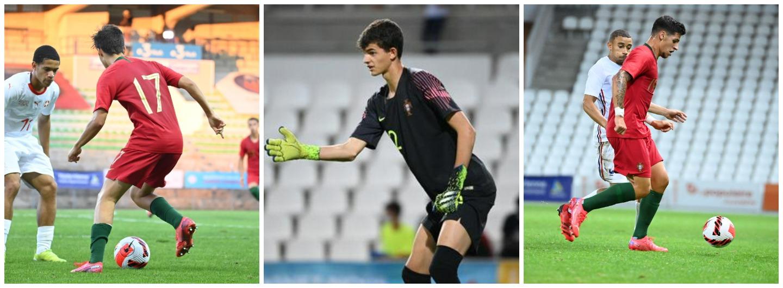 Três Gverreiros na Seleção Nacional Sub-18 1