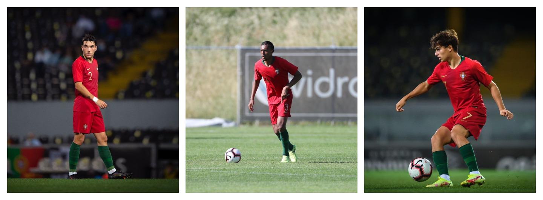 Trio Gverreiro convocado para a Seleção Sub-19 1