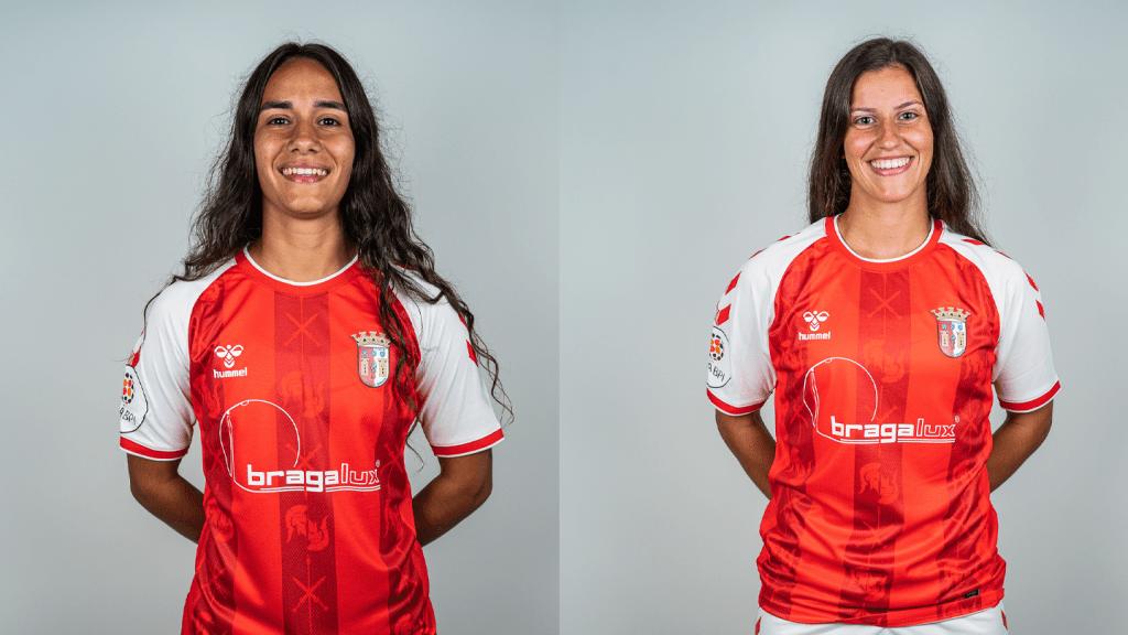 Ana Rute e Inês Maia na Seleção Nacional B 1