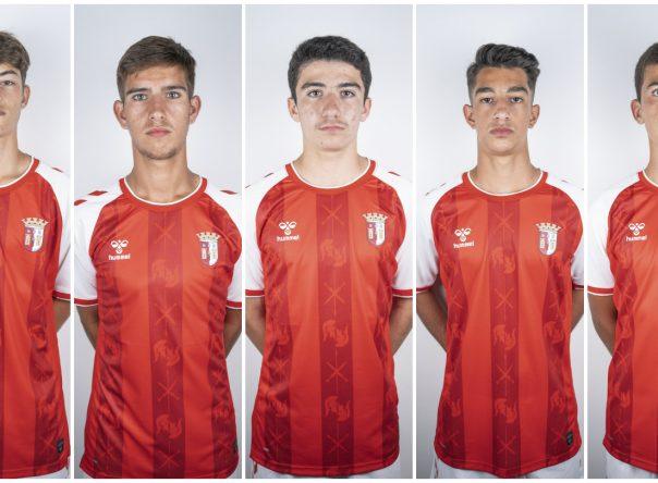 Cinco Gverreiros convocados para a Seleção Sub-15