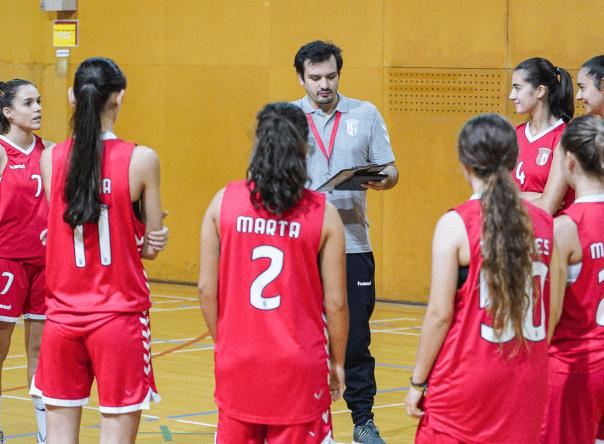 Basquetebol feminino perde diante do CD José Régio