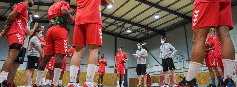 Equipas séniores de basquetebol para o arranque do campeonato 2