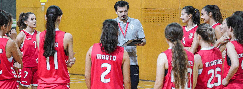 Basquetebol feminino perde diante do CD José Régio 2
